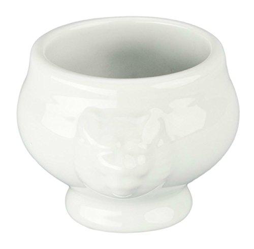 (Bia Cordon Bleu 902180 Porcelain Lion's Head Bowl, 3.75 oz, Porcelain)