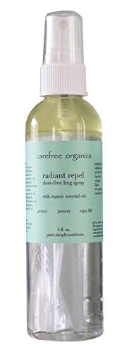 Bug Blend Spray - Carefree Organics Radiant Repel, an effective organic bug spray blend, 4 fl oz