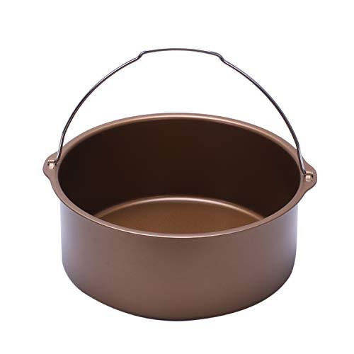 [해외]TOOGOO 1pcs Air Fryer Non-Stick Baking Barrel Cake Pan-Power Air Fryer Baking Barrel / TOOGOO 1pcs Air Fryer Non-Stick Baking Barrel Cake Pan-Power Air Fryer Baking Barrel