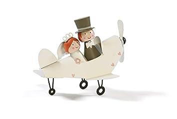 Amazonde Jullar Brautpaar Im Flugzeug Hochzeitsgeschenk Metall