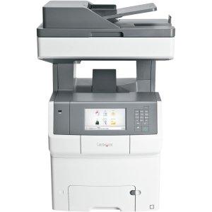 Lexmark X740 X748DE Laser Multifunction Printer - Color - Plain Paper Print - Desktop - Copier/Fax/Printer/Scanner - 35 ppm Mono/35 ppm Color Print - 2400 x 600 dpi Print - 35 cpm Mono/35 cpm Color Copy - Touchscreen - 600 dpi Optical Scan - Automatic Dup