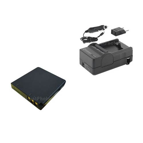 Panasonic LUMIX DMC-FX37 Digital Camera Accessory Kit includes: SDCGAS008 Battery, SDM-178 Charger