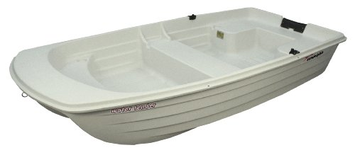 Sun Dolphin Water Tender Row Boat (White, 9.4-Feet)