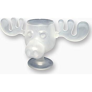 Amazon.com | National Lampoons Christmas Vacation Glass Moose Mug ...