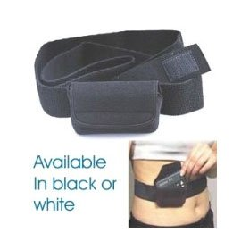 minimed-waist-it-velour-pouch-w-elastic-straps-black