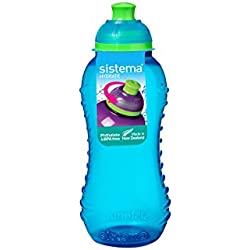 Sistema Hydrate Collection Twist 'N' Sip Water Bottle, 11.0 oz./0.3 L, Color Received May Vary