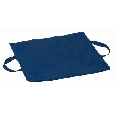 Brigss HealthCare DMI Duro-Gel Flotation Cushion, Poly/Cotton Cover, Navy, 16