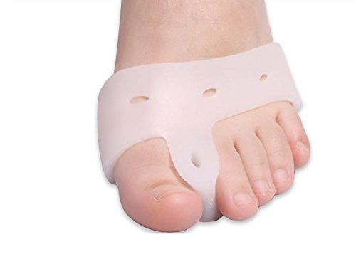 Separator Toe Gel Footsmart (2pairs Gel Forefoot Toe Separator Stretchers Bunion Splint Straightener Corrector Feet Hallux Valgus Cure Feet Care Nail Tools)