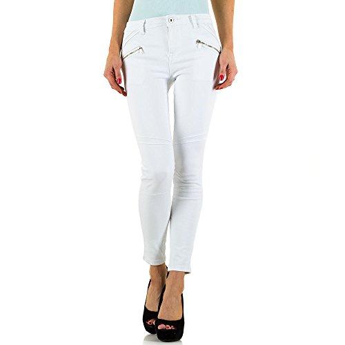 iTaL-dESiGn - Vaqueros - skinny - para mujer Weiß