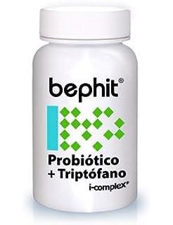 PROBIÓTICO + TRIPTÓFANO + L-GLUTAMINA BEPHIT - 60 cápsulas ...