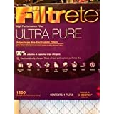 Filtrete High Performance 20X14 Air Cleaning Filter, 1500 Mpr- 3M