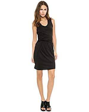 Theory Rossian Jersey Dress, Black, Medium