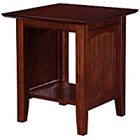 Nantucket End Table, Walnut