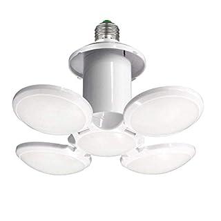 LED Garage Light,40w(400) Watt Equivalent 6500K,Cool Daylight White LED Street and Area Light,E26/E27 Medium Base,Workshop Light,Garage led Bulbs,Super Bright led Bulbs Light