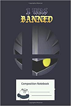 Composition Notebook: He Was Banned For A Reason Composition Notebook for Creative Lettering or Note taking