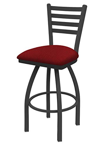 Holland Bar Stool Co. 41025PWAxsPap 410 Jackie Counter Stool, 25 Seat Height, Graph Ruby