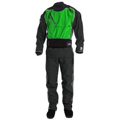Kokatat Men's Gore-Tex Icon Drysuit Leaf XL by Kokatat