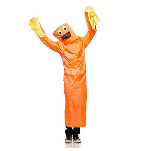 Wild Waving Tube Guy Costume - Small/Medium - Chest Size 38 -