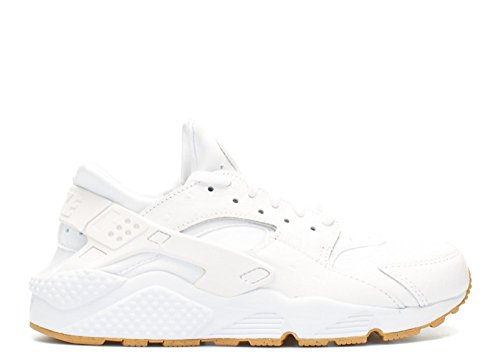 Air Huarache Run Pa (struzzo) Bianco / bianco-gum scuri (9) White, White-gum Light Brown