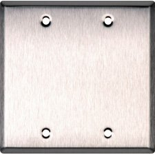 Anodized Aluminum Wall Plate - 3