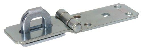 Hillman Hardware Essentials 851415 Fixed Staple Safety Hasp Zinc 7-1/4