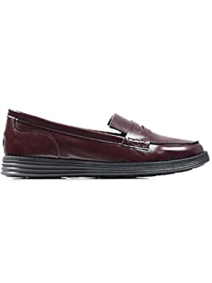 Will's Vegan Shoes Womens Loafers Wine