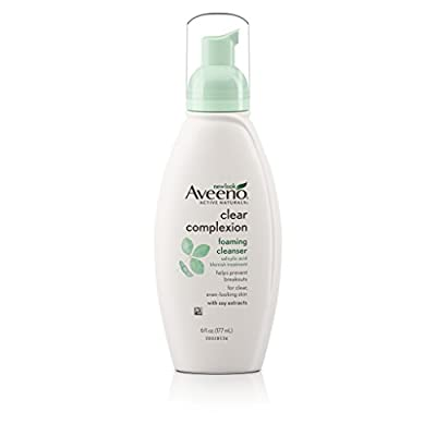 Aveeno Clear Complexion Foaming Cleanser, 6 fl. oz.