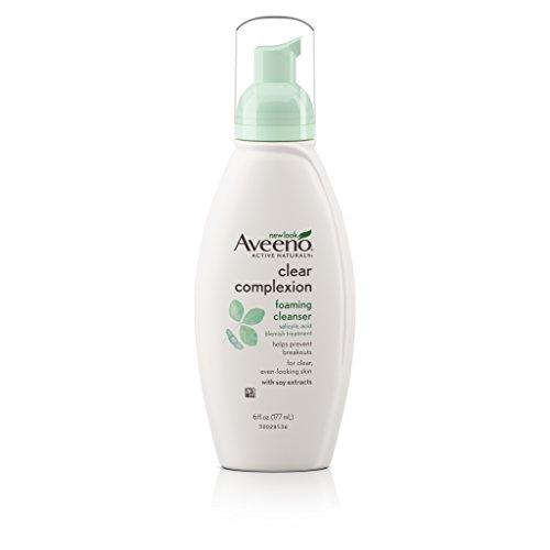 Aveeno Clear Complexion Foaming Facial Cleanser, 6 Fl. (Aveeno Clear Complexion Foaming Cleanser)