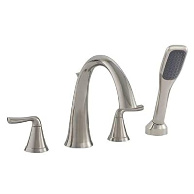 Mirabelle MIRPR4RT Provincetown Deck Mounted Roman Tub Filler with Built-In Dive,