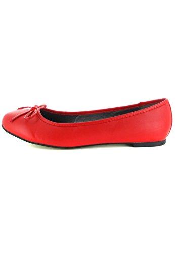 Andres Machado - Bailarinas para mujer Rojo rojo