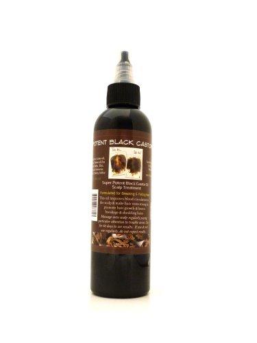 Super Potent Jamaican Black Castor Oil 8oz Large Bottle