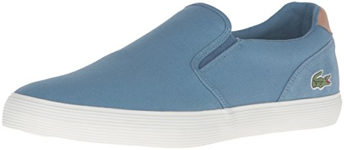 Lacoste Mens Jouer Slip-on Cam Fashion Sneaker Blue