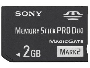Sony 2 Duo - 2GB 2 GB Memory Stick / Card PRO DUO for Sony Cyber-Shot (CyberShot) DSC-H55 HX5 TX1 TX7 TX9 T99 Net Sharing NSC-GC1 Bloggi MHS-CM5 PM5 Webbie CM1 PM1 Digital Camera / Sony Ericcson D750i K750i P910i P990i W700i W800 W810i W850i W900i Cell Phone