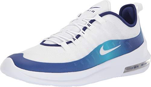 Nike Men's Air Max Axis Premium White/Regency Purple/Light Blue Fury Size 10 M US