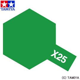 アクリルミニ X-25 クリヤーグリーン