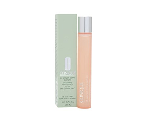 Clinique All About Eyes Serum for All Skin Types for Unisex, 0.5 Ounce ()