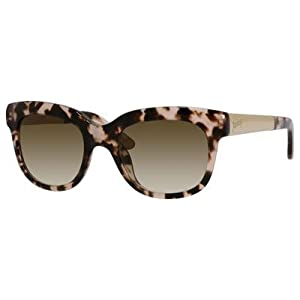 Juicy Couture W-SG-2999 Juicy Couture Juicy 571-S 0ER6-Blush Tortoise Womens Sunglasses, 52-20-135 mm