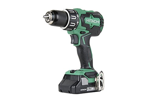 Hitachi DV18DBFL2S 18V Cordless Lithium Ion Brushless Hammer Drill (Includes One 3.0Ah COMPACT Battery) by Hitachi