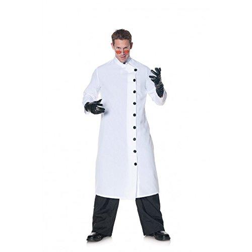 Underwraps Men's Plus-Size It's Alive, White/Black, XX-Large -