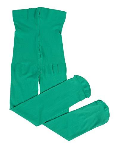 Leveret Girls Tights Green Size 2-4 Toddler -