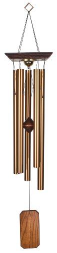 (Woodstock Chimes RML Memorial Chime, 36-1/2-Inch, Bronze)