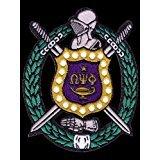 omega psi phi fraternity patches - Omega Psi Phi Fraternity Shield Cotton 5'' Emblem Patch