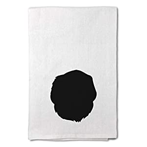 Style In Print Custom Decor Flour Kitchen Towels Pyrenean Mastiff Silhouette Pets Dogs Cleaning Supplies Dish Towels Design Only 14