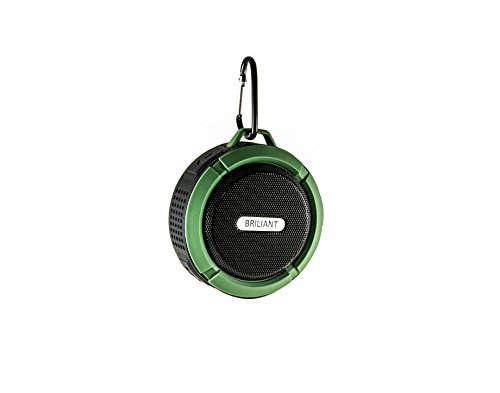 Water Resistant Silicone Bluetooth Speaker Set of 2 (Green) - 9