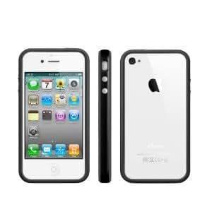 AccesoriosMac - Bumper iPhone 4 Negro