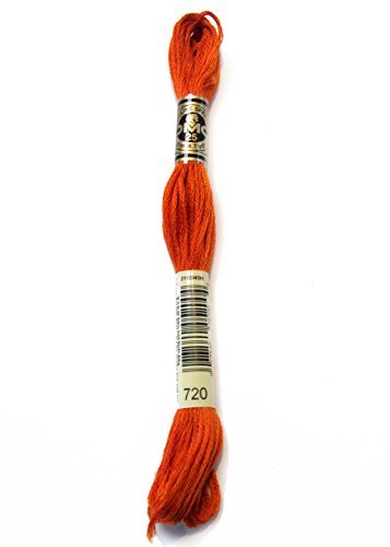 DMC 117-720 Six Strand Embroidery Cotton