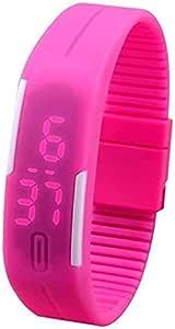كوارتز ساعة عملية كاجوال اطفال رقمي مطاطي - BLS-PIN