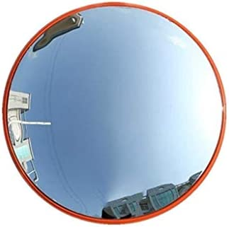 Geng カーブミラー 飛散凸面鏡、ビュー屋外広角スーパーマーケット盗難防止ミラーの拡張フィールド