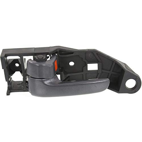 Interior Door Handle For 99-2003 Toyota Solara Front Driver Side Gray Plastic
