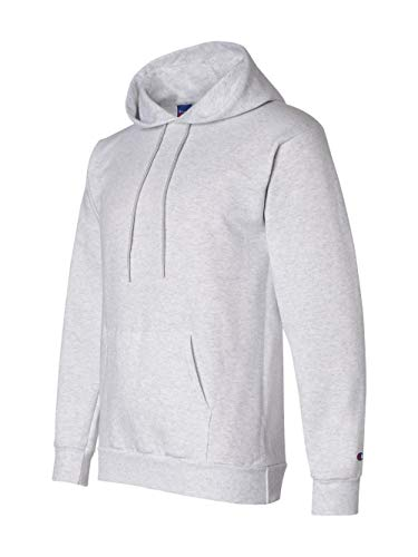 Champion S700 Adult Eco Pullover Hooded Fleece - Silver Grey, - Heavyweight Hoodie Champion